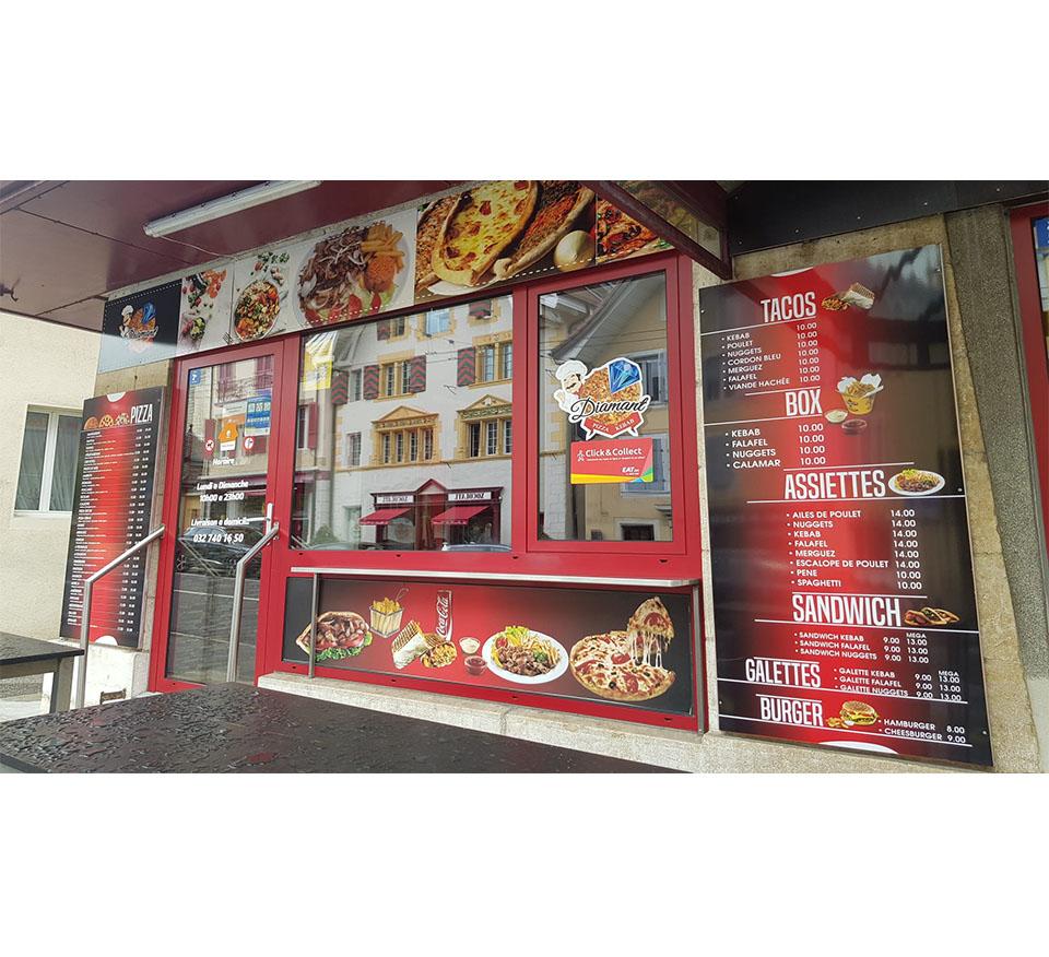 Panneaux publicitaire